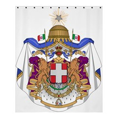 Greater Coat of Arms of Italy, 1870-1890 Shower Curtain 60  x 72  (Medium)