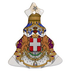 Greater Coat of Arms of Italy, 1870-1890 Ornament (Christmas Tree)