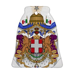 Greater Coat of Arms of Italy, 1870-1890 Bell Ornament (Two Sides)
