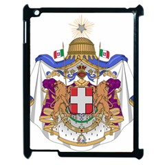 Greater Coat of Arms of Italy, 1870-1890 Apple iPad 2 Case (Black)