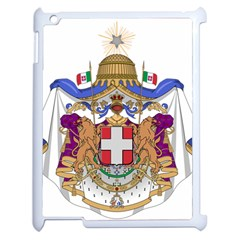 Greater Coat of Arms of Italy, 1870-1890 Apple iPad 2 Case (White)