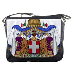 Greater Coat of Arms of Italy, 1870-1890 Messenger Bags