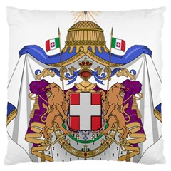 Greater Coat of Arms of Italy, 1870-1890 Large Cushion Case (Two Sides)