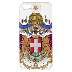 Greater Coat of Arms of Italy, 1870-1890 Apple iPhone 5 Hardshell Case