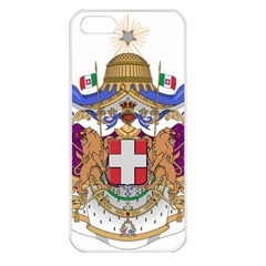Greater Coat of Arms of Italy, 1870-1890 Apple iPhone 5 Seamless Case (White)