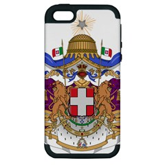 Greater Coat of Arms of Italy, 1870-1890 Apple iPhone 5 Hardshell Case (PC+Silicone)