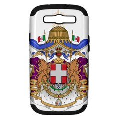 Greater Coat of Arms of Italy, 1870-1890 Samsung Galaxy S III Hardshell Case (PC+Silicone)