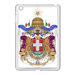 Greater Coat of Arms of Italy, 1870-1890 Apple iPad Mini Case (White)