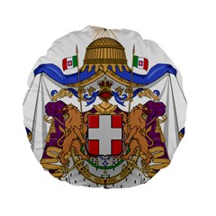 Greater Coat of Arms of Italy, 1870-1890 Standard 15  Premium Round Cushions
