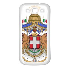 Greater Coat of Arms of Italy, 1870-1890 Samsung Galaxy S3 Back Case (White)