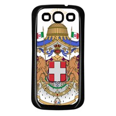 Greater Coat of Arms of Italy, 1870-1890 Samsung Galaxy S3 Back Case (Black)