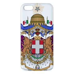 Greater Coat of Arms of Italy, 1870-1890 iPhone 5S/ SE Premium Hardshell Case