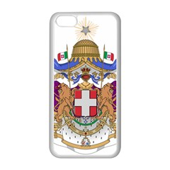 Greater Coat of Arms of Italy, 1870-1890 Apple iPhone 5C Seamless Case (White)