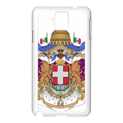 Greater Coat of Arms of Italy, 1870-1890 Samsung Galaxy Note 3 N9005 Case (White)