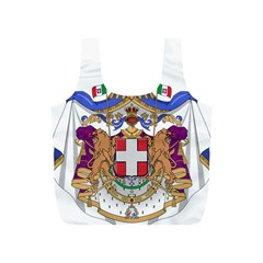 Greater Coat of Arms of Italy, 1870-1890 Full Print Recycle Bags (S)