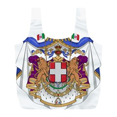 Greater Coat of Arms of Italy, 1870-1890 Full Print Recycle Bags (L)