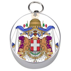 Greater Coat of Arms of Italy, 1870-1890 Silver Compasses