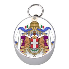 Greater Coat of Arms of Italy, 1870-1890 Mini Silver Compasses