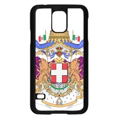 Greater Coat of Arms of Italy, 1870-1890 Samsung Galaxy S5 Case (Black)