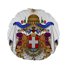 Greater Coat of Arms of Italy, 1870-1890 Standard 15  Premium Flano Round Cushions