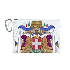 Greater Coat of Arms of Italy, 1870-1890 Canvas Cosmetic Bag (M)