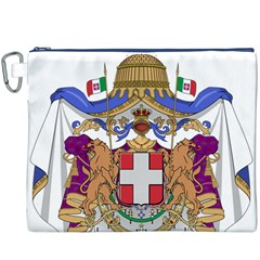 Greater Coat of Arms of Italy, 1870-1890 Canvas Cosmetic Bag (XXXL)