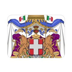 Greater Coat of Arms of Italy, 1870-1890 Double Sided Flano Blanket (Mini)
