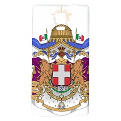 Greater Coat of Arms of Italy, 1870-1890 Galaxy Note 4 Back Case