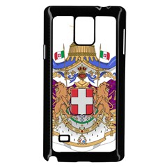 Greater Coat of Arms of Italy, 1870-1890 Samsung Galaxy Note 4 Case (Black)