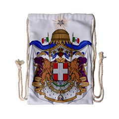 Greater Coat of Arms of Italy, 1870-1890 Drawstring Bag (Small)