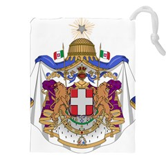 Greater Coat of Arms of Italy, 1870-1890 Drawstring Pouches (XXL)