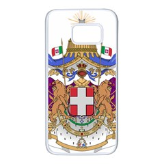 Greater Coat of Arms of Italy, 1870-1890 Samsung Galaxy S7 White Seamless Case