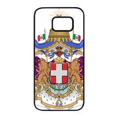Greater Coat of Arms of Italy, 1870-1890 Samsung Galaxy S7 edge Black Seamless Case