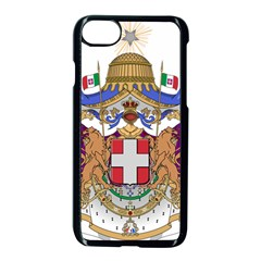 Greater Coat of Arms of Italy, 1870-1890 Apple iPhone 7 Seamless Case (Black)