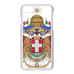 Greater Coat of Arms of Italy, 1870-1890 Apple iPhone 7 Seamless Case (White)