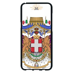 Greater Coat of Arms of Italy, 1870-1890 Samsung Galaxy S8 Plus Black Seamless Case