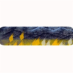Blue and Gold Landscape with Moon Large Bar Mats