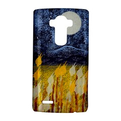 Blue And Gold Landscape With Moon Lg G4 Hardshell Case