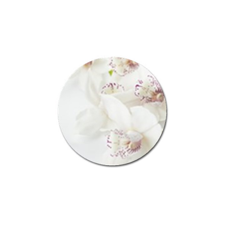 Orchids Flowers White Background Golf Ball Marker (4 pack)