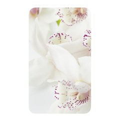 Orchids Flowers White Background Memory Card Reader