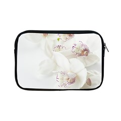 Orchids Flowers White Background Apple Ipad Mini Zipper Cases