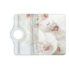 Orchids Flowers White Background Kindle Fire Hd (2013) Flip 360 Case