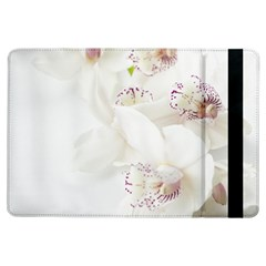 Orchids Flowers White Background iPad Air Flip