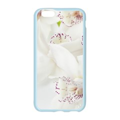 Orchids Flowers White Background Apple Seamless iPhone 6/6S Case (Color)