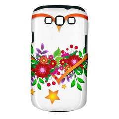 Heart Flowers Sign Samsung Galaxy S Iii Classic Hardshell Case (pc+silicone)
