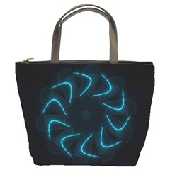 Background Abstract Decorative Bucket Bags