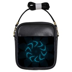 Background Abstract Decorative Girls Sling Bags