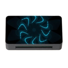 Background Abstract Decorative Memory Card Reader With Cf