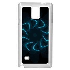 Background Abstract Decorative Samsung Galaxy Note 4 Case (white)