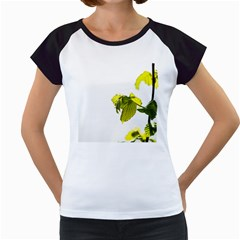 Leaves Nature Women s Cap Sleeve T
